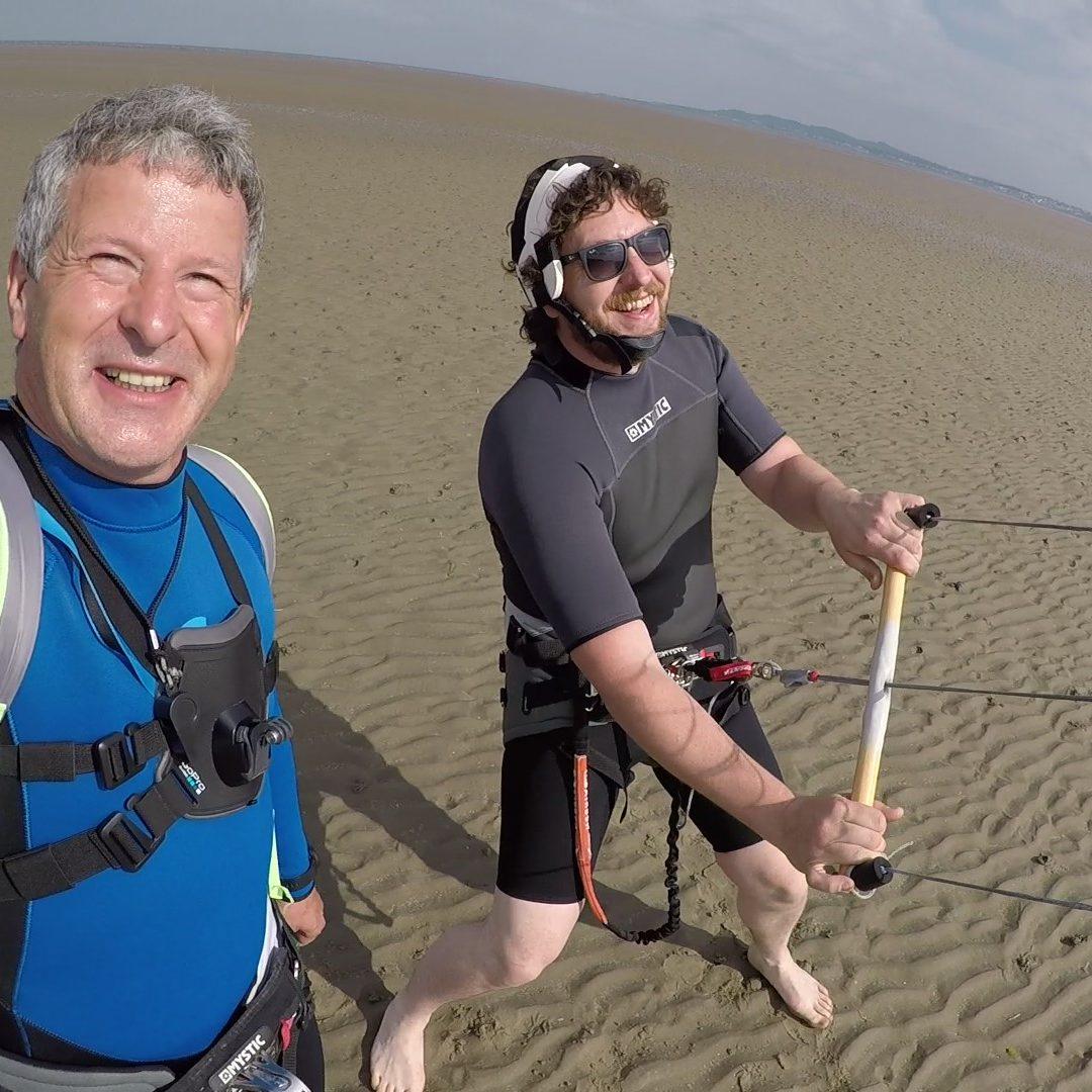 Kiteboarding skills