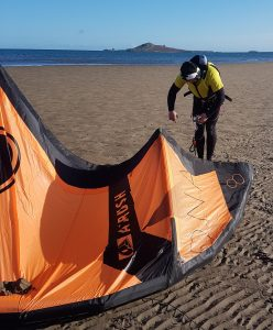 Kitesurfing Lessons Burrow Beach