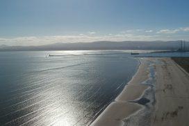 Kitesurfing beach Ireland, Dublin Dollymount