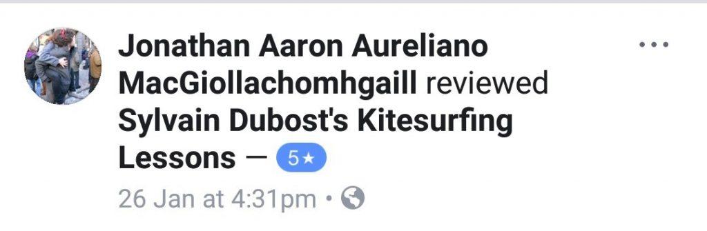 Kitesurfing dublin review Jonathan