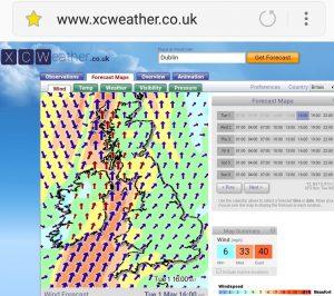 kitesurfing lessons xc weather