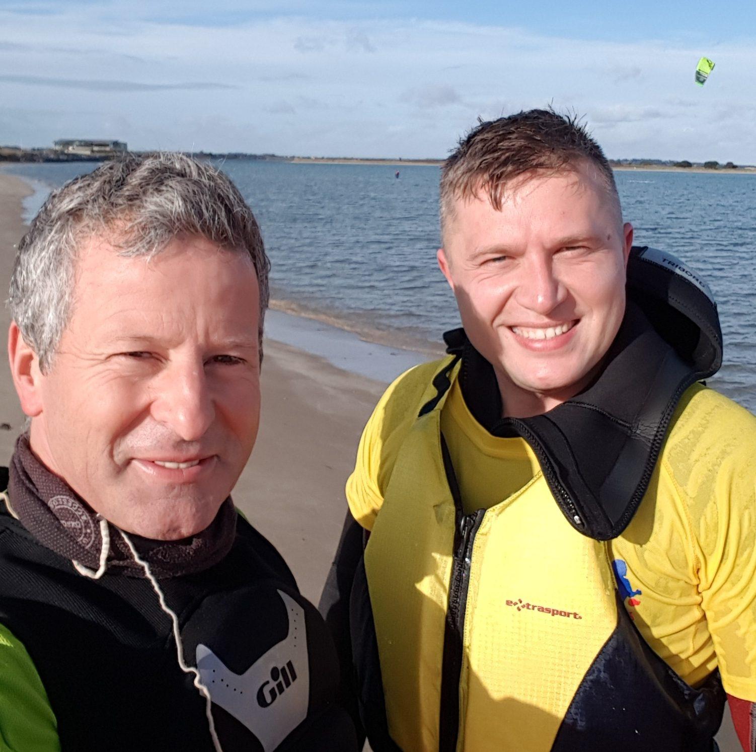 tomas kitesurfing dublin