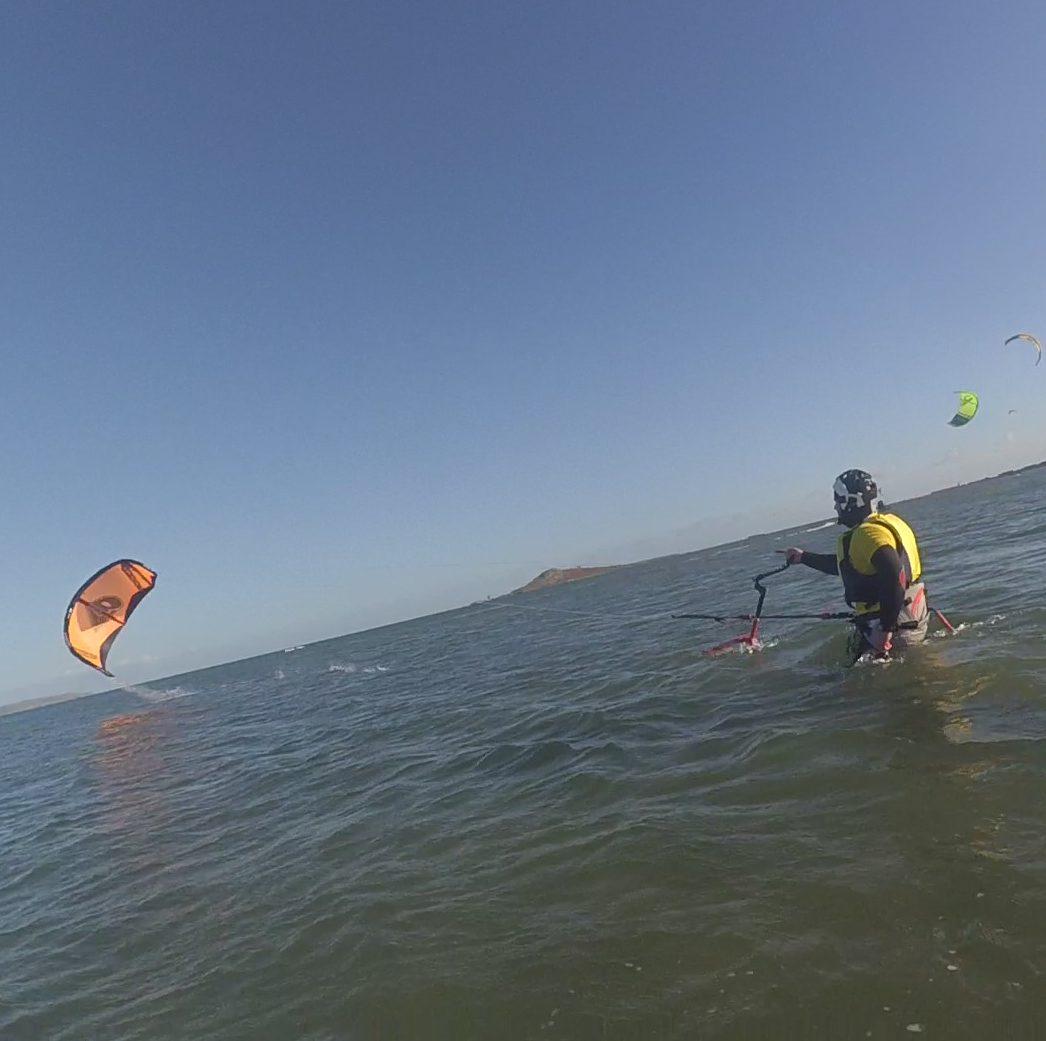 Kitesurfing lesson ireland